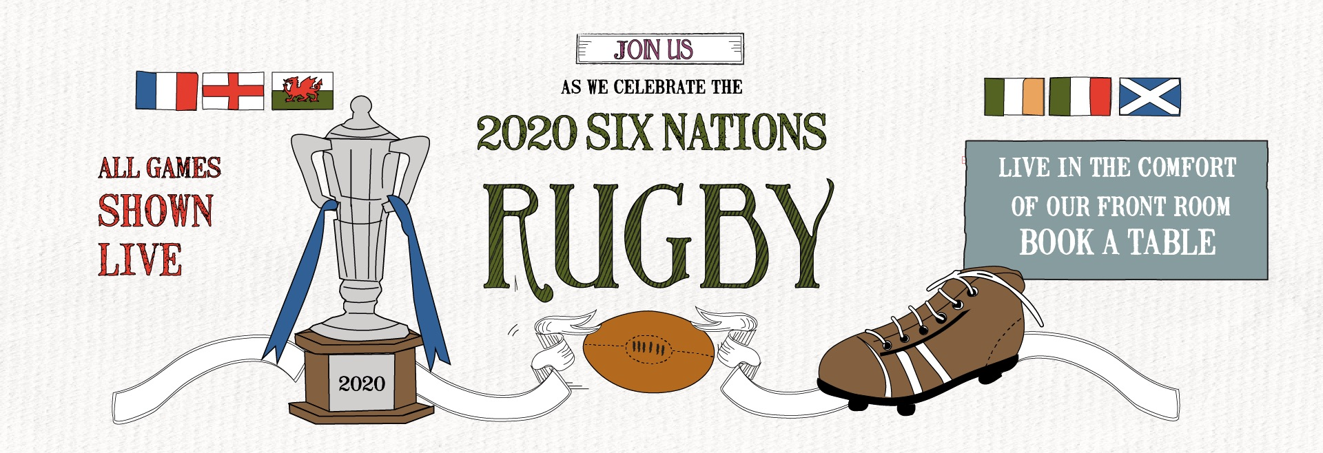 Six Nations at The Builder's Arms