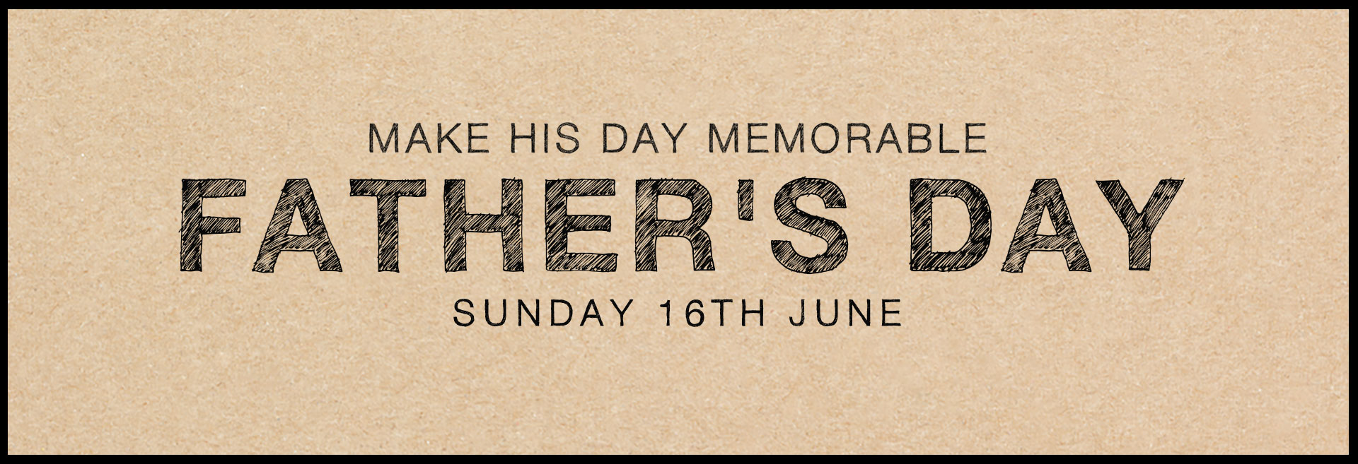 Father's Day at The Builder's Arms