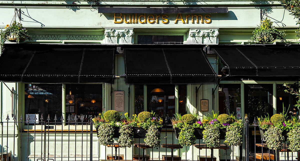 Book Your Table The Builder's Arms